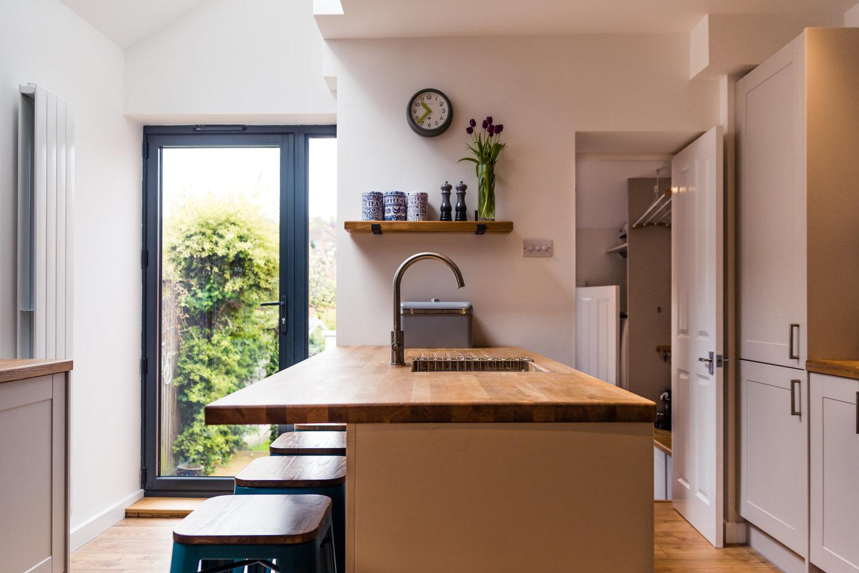 Small Spacious Kitchen