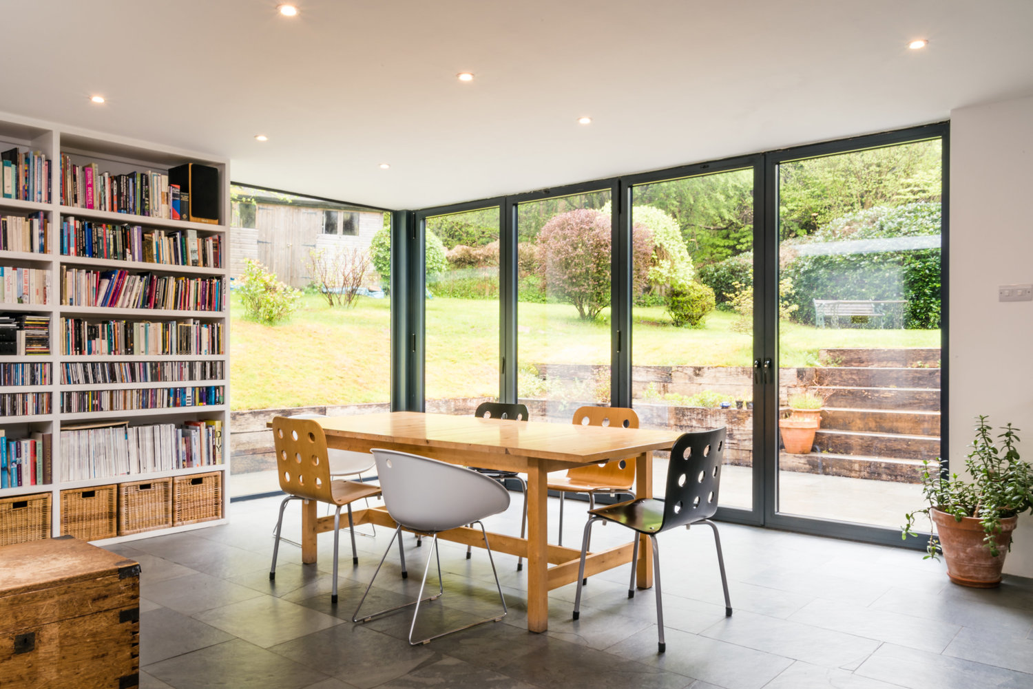 Open Plan Kitchen Leading to Garden
