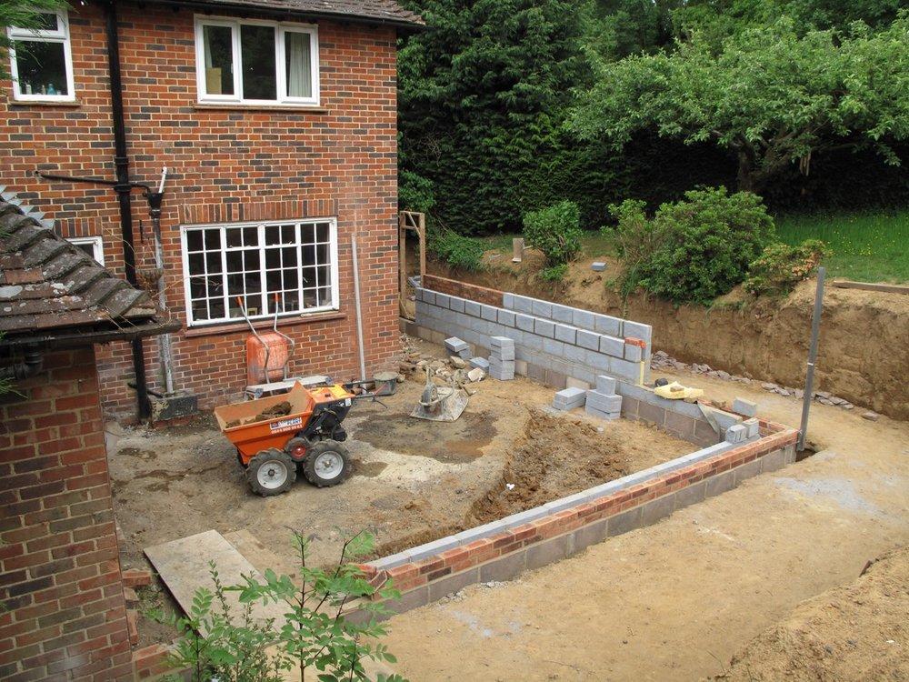 Extension Underway by David Strudwick