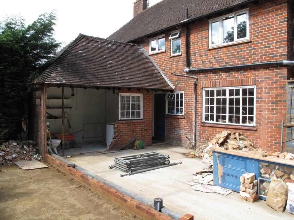 Home Renovation in Progress by David Strudwick