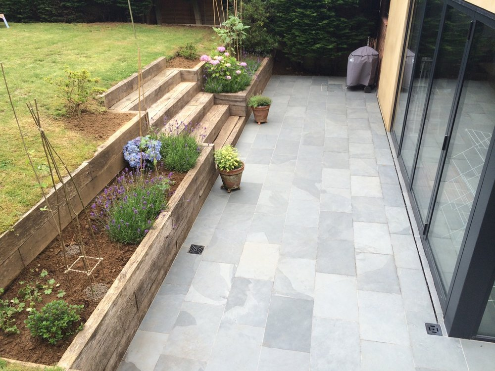 Garden Patio Renovation by David Strudwick