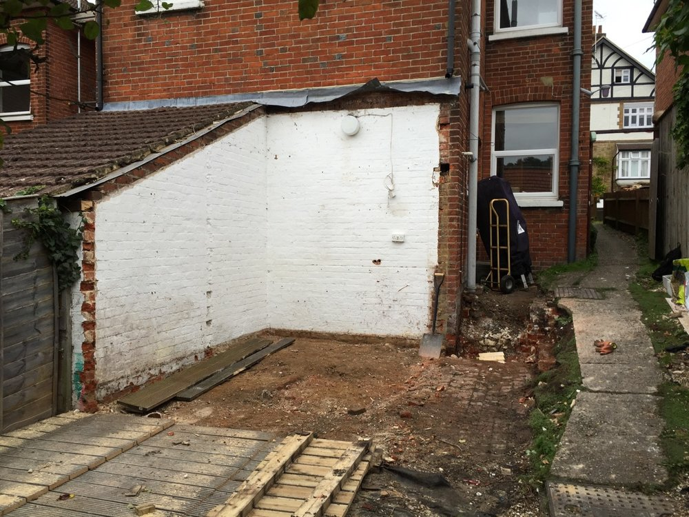 Preparation Works for Home Extension