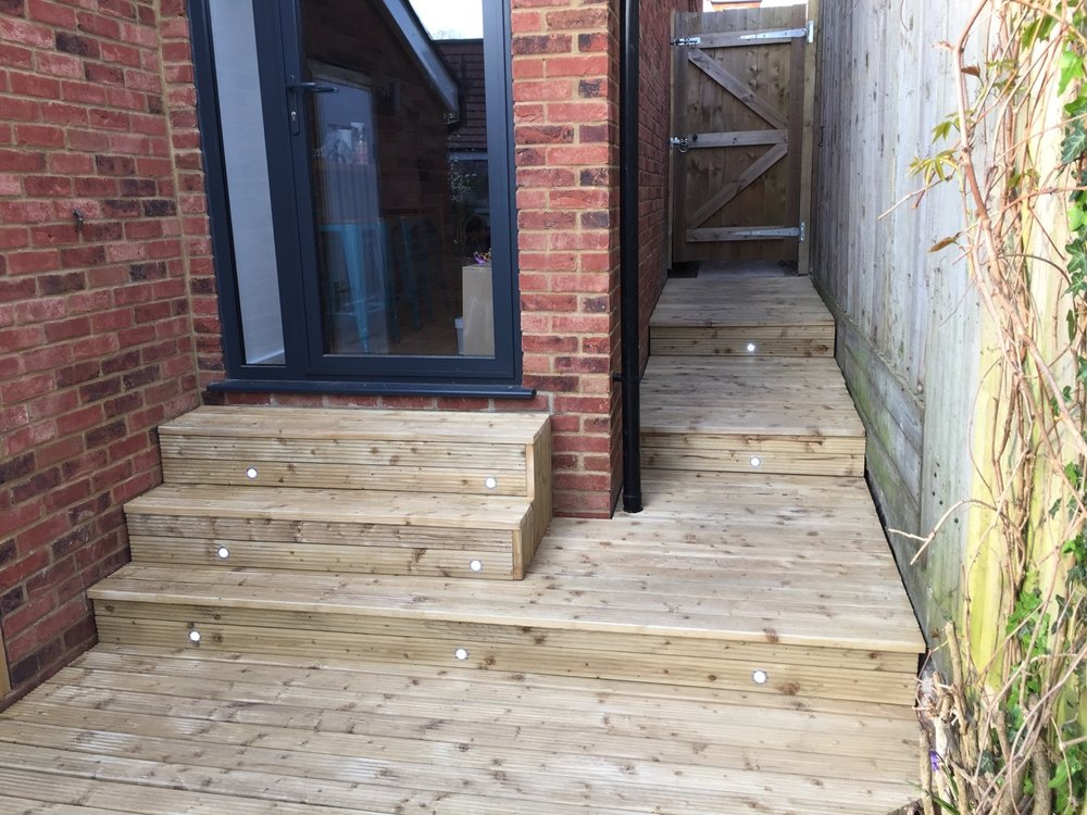 Fitted Decking for New Home Renovation