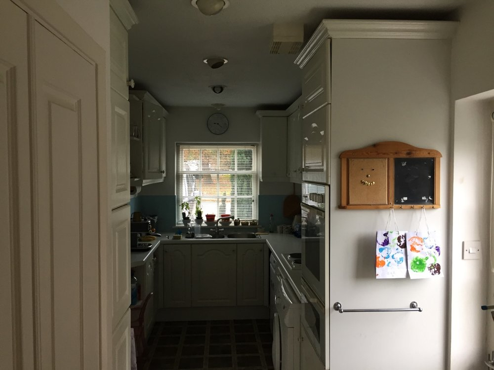 Before Kitchen Renovation by David Strudwick