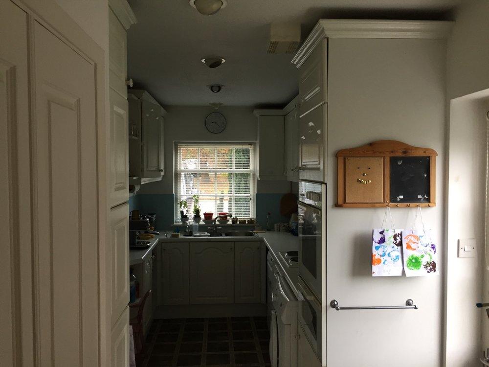 Before Kitchen Renovation by David Strudwick